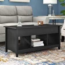 legs coffee table with storage color
