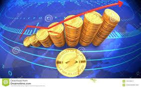 Electroneum Online Cash Digital Money Chart Showing Value