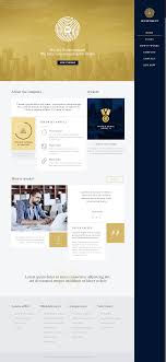 Betheme Web Design I Like The Combination Vof Gold And Dark Navy Blue Betheme