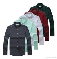 Designer Shirt With Holes 2019 New 2019 Brand Mens Designer Shirts Mens Business Casual Shirt Mens Long Sleeve Striped Slim Fit Social Male Shirts New Fashion Medusa 185 From