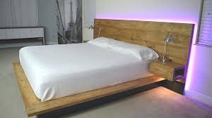 Platform bed with floating nightstands Mattress Bed With Attached Nightstands Charming Platform Floating Night Stands Plans Available Regarding Frame Chair Carolinecousinsnet Bed With Attached Nightstands Charming Platform Floating Night