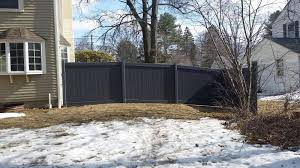black vinyl privacy fence. Black Vinyl Privacy Fence L