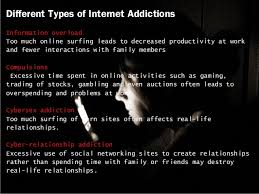 internet addiction  4 different types of internet