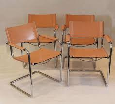 leather and chrome chair. Gorgeous Black Faux Leather Dining Chairs With Chrome Legs Enyo Brown And Chair