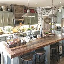 rustic farmhouse kitchen home designs kitchens county