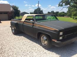 Convertible Chevy Dually with 454