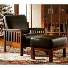 mission oak furniture. Leather Mission Oak Morris Chair Furniture