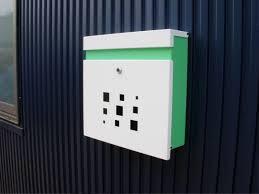 Modern Mailbox Wall Mount Design Home Ideas Collection Standard