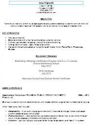 killer bartending resume sample you can copybars and bartendingbartending resume sample