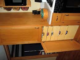 cabinet modular kitchen oak picture 1 of 5 open lower half of pantry