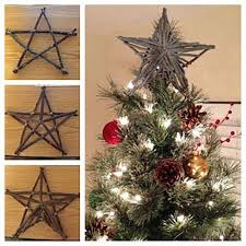 DIY Christmas Tree Topper Ideas