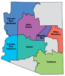azgfd Map Northeastern Arizona fish & boat arizona will take you to a map with the top fishing locations map northeast arizona