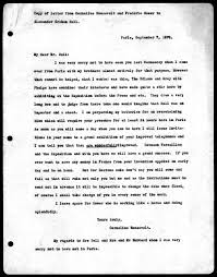letter from cornelius roosevelt frederic gower to alexander  letter from cornelius roosevelt frederic gower to alexander graham bell 7 1878 library of congress