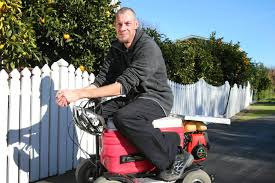 marlborough man dean page converts chilly bin into hybrid scooter stuff co nz