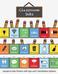 Classroom Jobs Chart Printable Classroom Job Chart Pictures Www