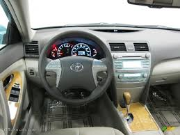 2007 Toyota Camry XLE V6 Ash Dashboard Photo #39536553 | GTCarLot.com