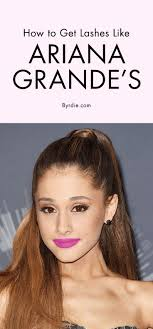 ariana grande s makeup artist on how to fake longer thicker lashes tips tricks makeup lashes and ariana grande makeup