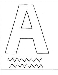 Letter A Template Letter A Alligator Craft All Kids Network