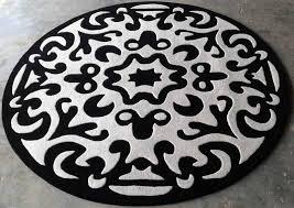 custom version of angelo pebbles rug