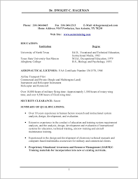 Objective Statements For Resumes Military To Civilian Resume Objective Statements Resume Resume 40