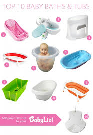 best baby bath tubs 2018 sponsored by babylist
