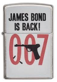 <b>Зажигалка James Bond 007</b>™ <b>ZIPPO</b> 29563 купить на <b>Zippo</b>.ru