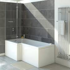 Trojan Solarno 1500mm L Shaped Shower Bath Uk Bathroom Solutions