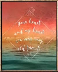 Hafiz Quote Hafiz PoemYour Heart And My Heart Inspirational Impressive Hafiz Quotes