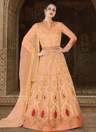 Designer Anarkali Suits Uk Buy Embroidered Work Long Length Designer Anarkali Suit