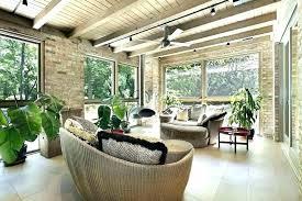 sun porch furniture ideas. Simple Porch Sun Room Furniture Ideas Porch Idea  Brick With Wicker And R