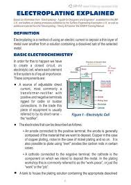 Plating Process Flow Chart Electroplating Explained Cdr Samfa Home Page
