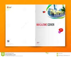 Magazine Cover Design Corporate Business Brochure Annual Report
