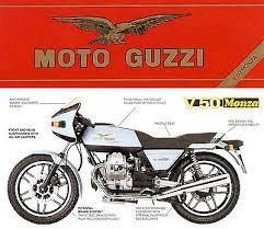 1980s motorrad guzzi v50 monza