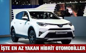 Türkiyede Satılan Hibrit Otomobiller İşte En Az Yakan