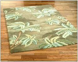 tree area rugs palm rug border leaf pal