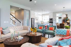 Turquoise Color Scheme Living Room Living Room Awesome Brown Color Scheme Nice Fabric Sectional Sofa