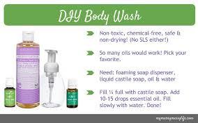 diy all natural wash recipe