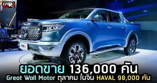 ยอดขาย 136,000 คัน Great Wall Motor ตุลาคม ในจีน - CAR250 รถยนต์รถใหม่  ข่าวสารรถยนต์ รถใหม่ล่าสุด เปิดตัวรถใหม่ ราคารถใหม่