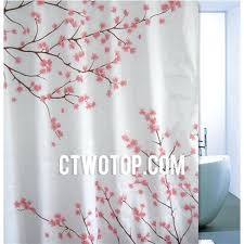 color block shower curtain pink magenta bright