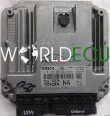 ECU ENGINE CONTROLLER TOYOTA YARIS 1.4 D4D 1ND-TV 89661-52L30 N4 ...