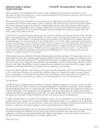 Reflection Essay Example Tomyumtumweb Com
