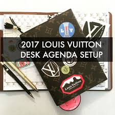 2017 louis vuitton desk agenda set up universal year 1 grit glamour