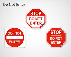 Templates For Signs Free Free Traffic Signs Powerpoint Templates