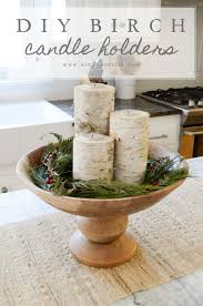 Diy Candle Holders Easy Diy Birch Candle Holders Tutorial