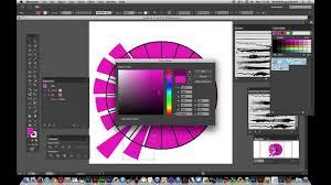 Illustrator Cc Polar Grid Tool And Pie Slices Tutorial
