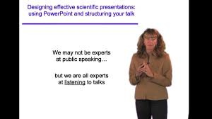 Designing Effective Scientific Presentations Ibiology