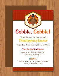 Invite Templates For Word Mesmerizing Word Templates For Invitations Thanksgiving Turkey Dinner Invite