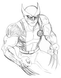 This book can also help calm kids down and make them be patient and peaceful! Wolverine And The X Men Coloring Pages