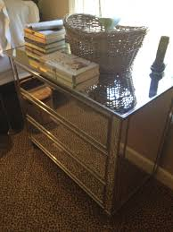 Pottery Barn Mirrored Furniture Pottery Barn Mirrored Dresser Chest Youtube