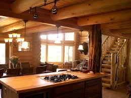 this log home was completely finished with loft and basement for about 80 bucks a square